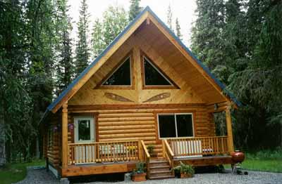 alaska log and frame cabin packages metal roofing and cabin plans rh lastfrontiercabins com log cabin kit homes alaska Small Log Cabins in Alaska