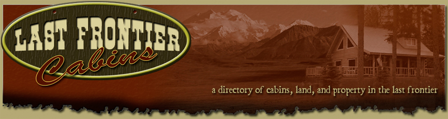 Alaska cabins for sale or rent  directory